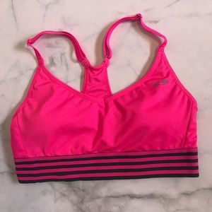 C9 hot pink workout sports bra XS removable pads